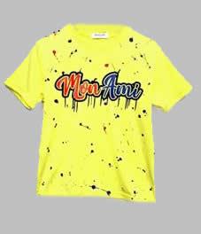 T-shirt - Moni Ami geel