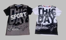 T-shirt - This day white