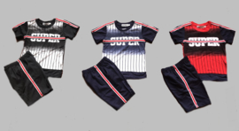 Twee delige jogg set - Super navy