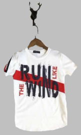 T-shirt -  Run like the wind wit