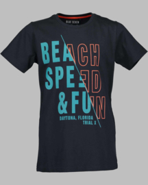 T-shirt -  Blue Seven 602696 Beach