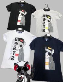T-shirt - Bests zwart