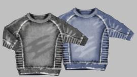 Sweater - Minoti sweater washed blue