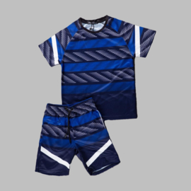 Twee delige set - Sports blue