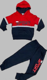 Joggingpak - Sport rood