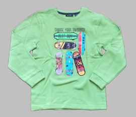 Blue Seven sweatshirt - BS 864588 apple green