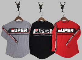 Longsleeve - Super grijs