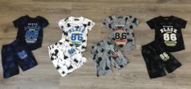 Twee delige set - Black navy