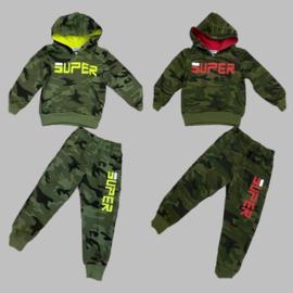 Joggingpak - Army Super yellow