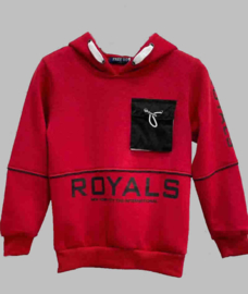 Hoody -   Royals red
