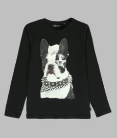 Longsleeve - Bull dog black