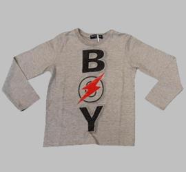 Longsleeve - Boy grey