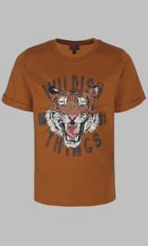T-shirt - Wildish Things brown