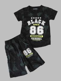 Twee delige set - Black zwart