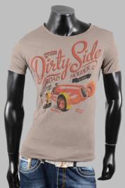 T-shirt - SJK 8801 stone