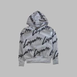 Hoody -   Loyalty grey