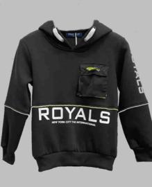 Hoody -   Royals black