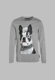 Longsleeve - Bull dog grey