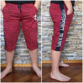 Jogg  Bermuda - Sports red