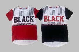 T-shirt - Black zwart