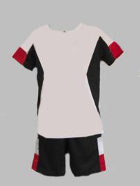 Twee delige jogg set - Sport black and white