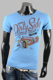 T-shirt - SJK 8801 blue