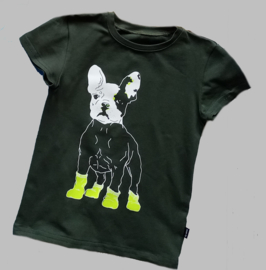 T-shirt - Dog black