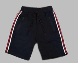 Jogg  Bermuda - Stripe navy