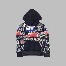 Hoody -   Urban black