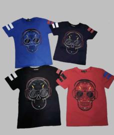 T-shirt - Skull black