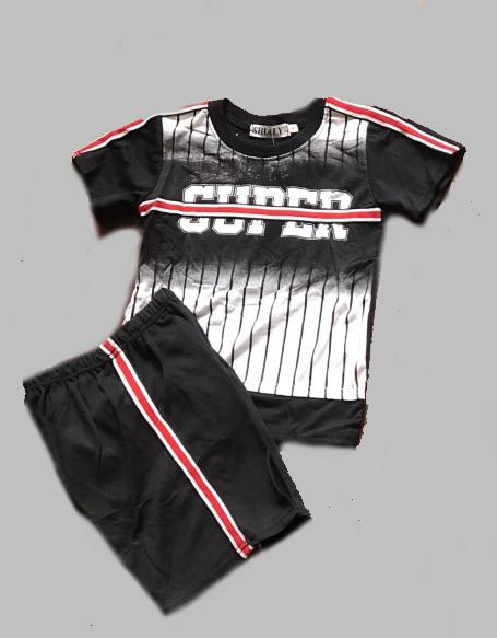 Twee delige jogg set - Super black