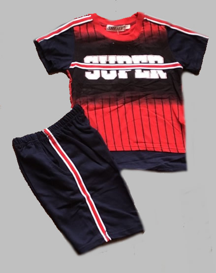 Twee delige jogg set - Super red