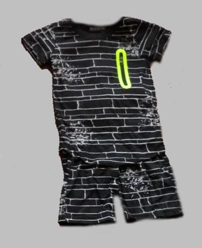Twee delige jogg set - Bricks black