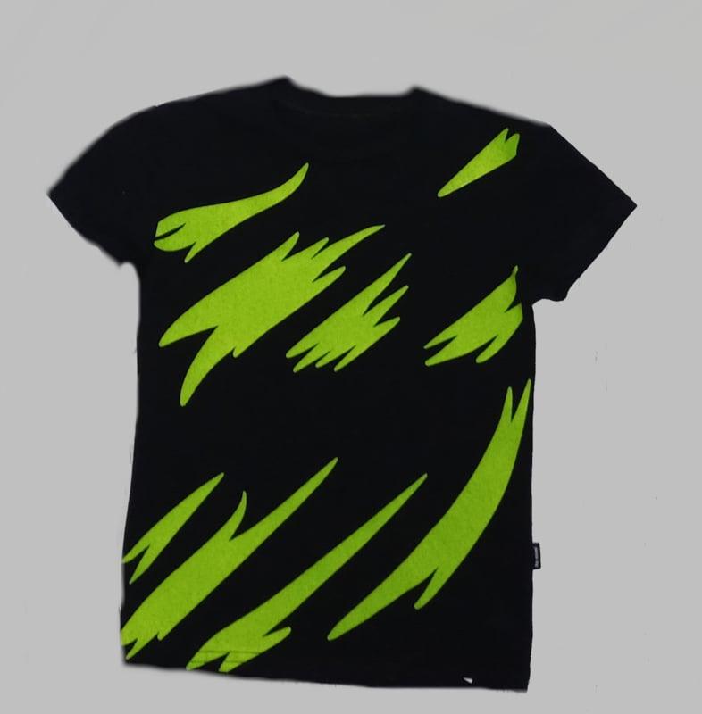 T-shirt - Thunder black
