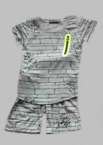 Twee delige jogg set - Bricks grey