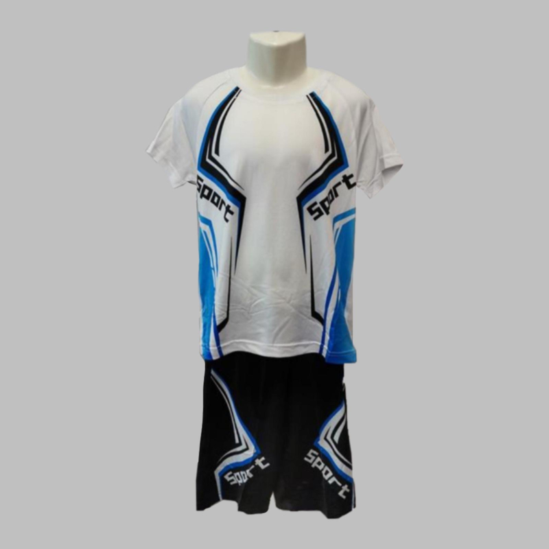 Twee delige set - Sport blue