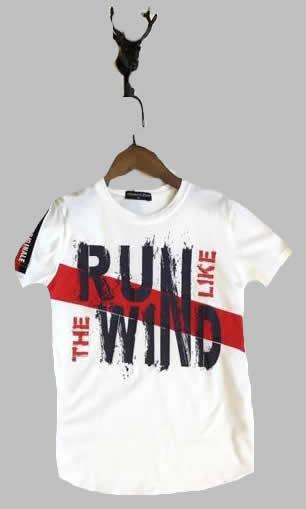 T-shirt -  Run like the wind wit
