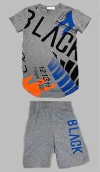 Twee delige set - Bright grey