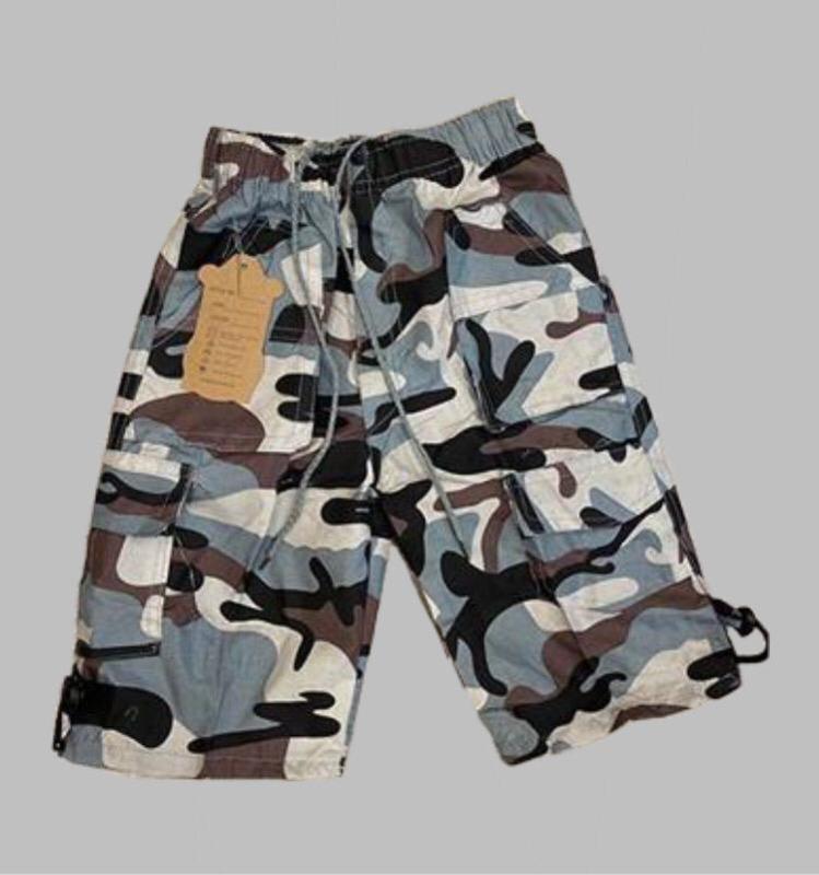 Bermuda - army grey