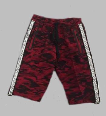 Jogg  Bermuda - Army red