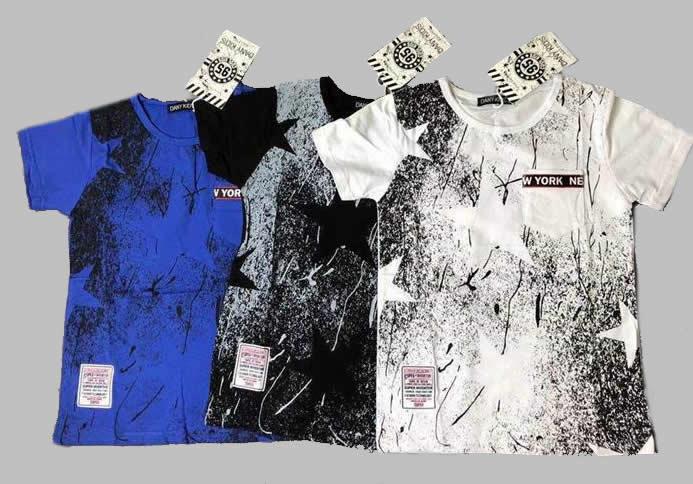 T-shirt - Stars black