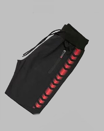 Jogg Pant - SJK 81821 black and red