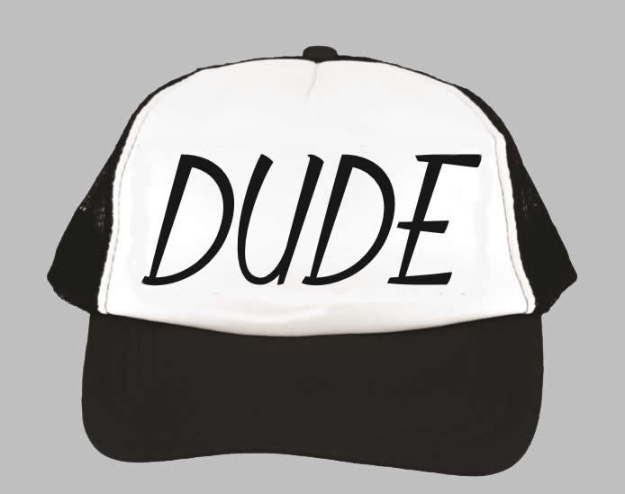 Cap - Dude