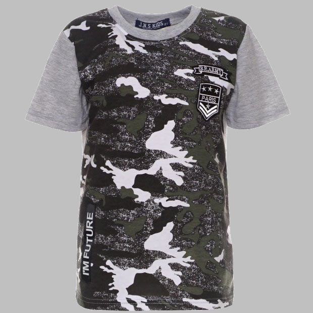T-shirt - SJK 340 grey