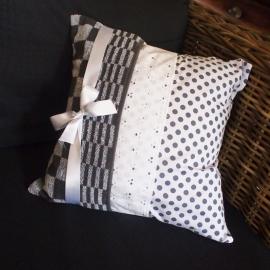Kussenhoes handdoek grijs
