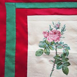 Kussenhoes roos