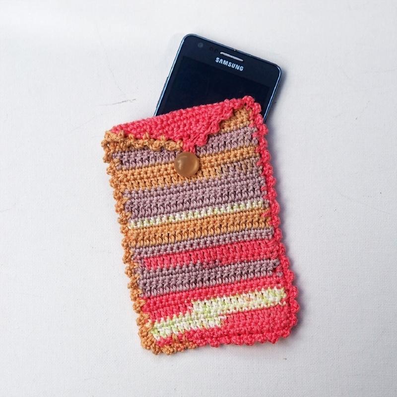 Telefoonhoesje roze met klepje
