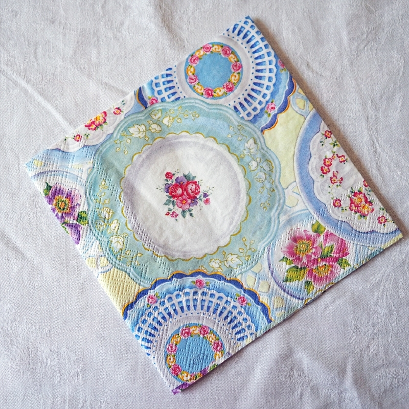 Servet 'Collection of Plates'