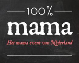 Logo 100% mama