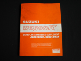 Werkplaatshandboek Suzuki WagonR+ (RB310 en RB413) supplement
